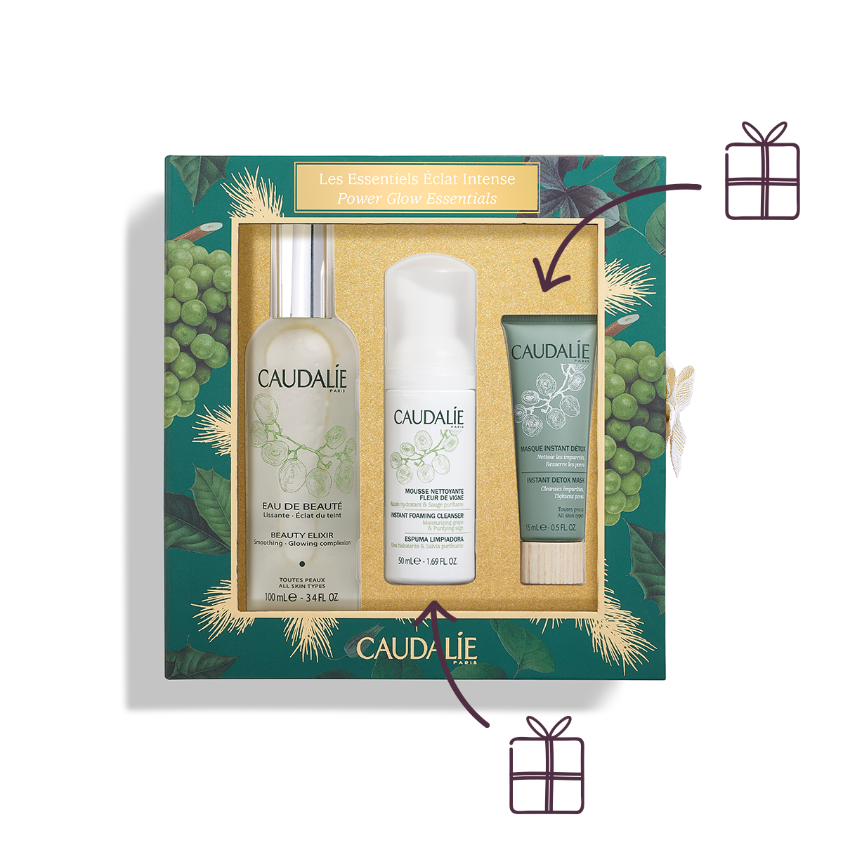Essentials voor een stralende huid Set